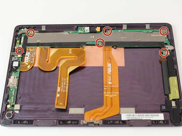 Eee Pad Transformer Prime TF201 Front and Back Cameras Replacement