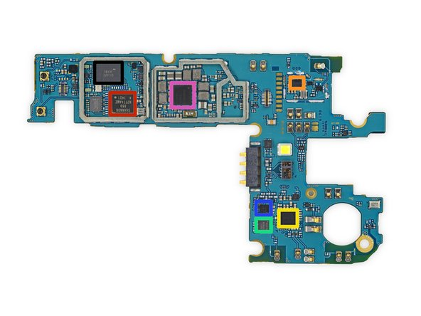 Other side of motherboard: