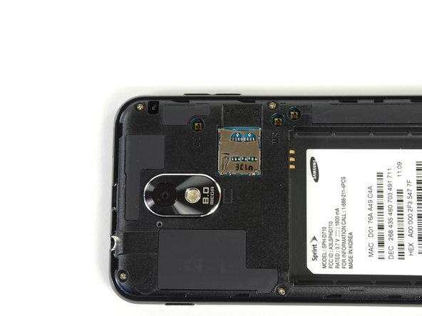 Before diving in any further, we take a brief moment to admire the 8.0 megapixel rear-facing camera and microSD slot.
