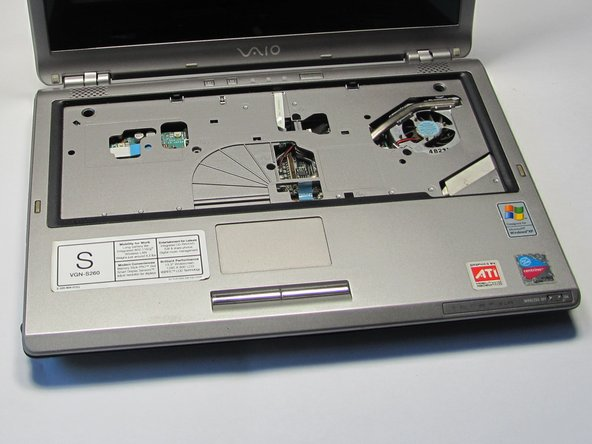Sony Vaio VGN-S260 Upper Casing Replacement