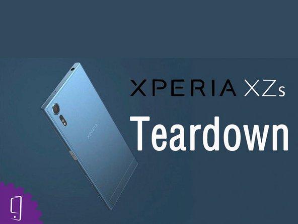 Sony Xperia XZs の分解