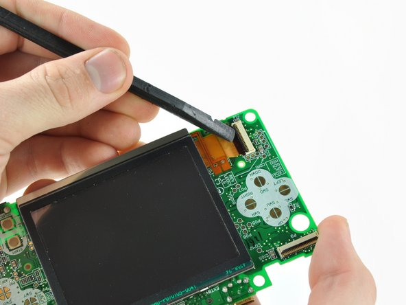 Nintendo DS Lite Lower LCD Assembly Replacement