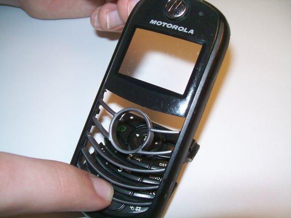 Motorola C139 Keypad & Faceplate Replacement