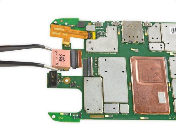 Motorola Droid Turbo Rear Facing Camera Replacement