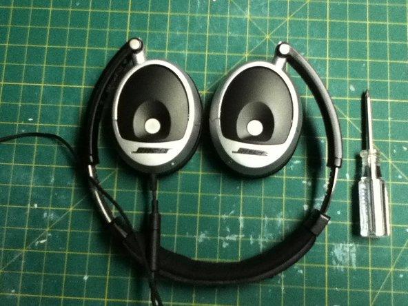 Repairing Bose On-Ear headphones Shorted Right earphone