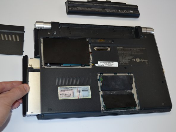 Sony Vaio PCG-5N4L CD/DVD Drive Replacement