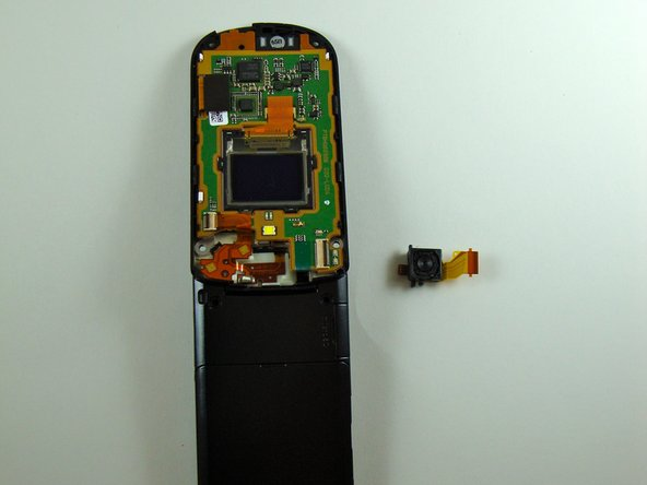 Disassembling KDDI Kyocera A5521K Camera
