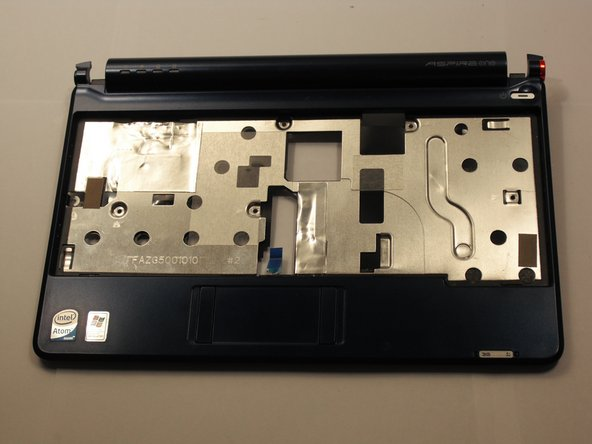 Acer Aspire One ZG5 Top Case Replacement
