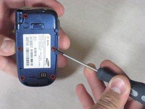 Démontage de la carte mère du Samsung SPH-A760