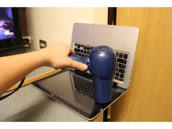 Use a hair dryer to heat the adhesive around the edges of the screen you are removing.