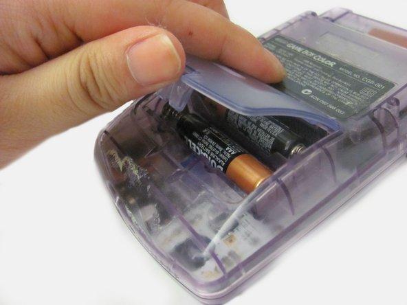 Game Boy Color Batterie Austausch