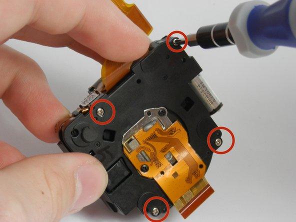 Fujifilm FinePix T500 Lens Gears Replacement