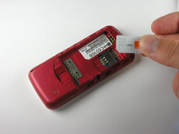 LG KP100 SIM Card Replacement