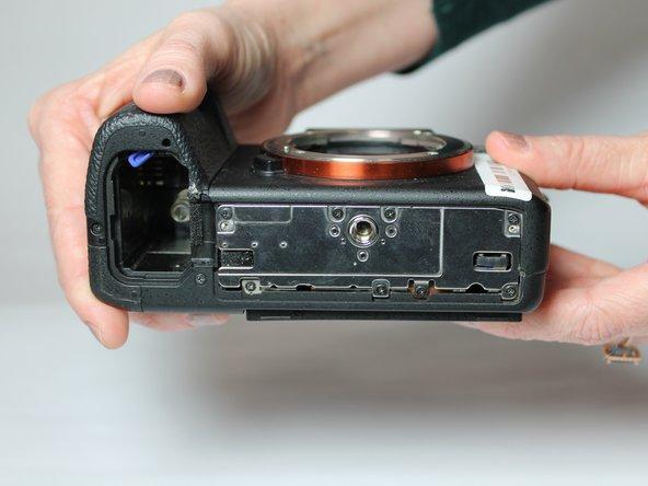 Sony Alpha a7s II Tripod Socket Replacement