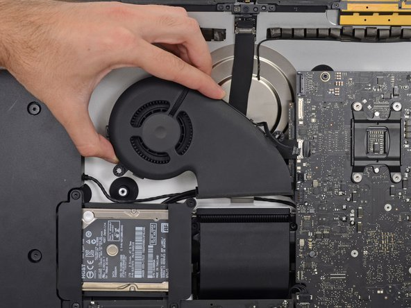 "iMac Intel 21.5"" EMC 2544 Fan Replacement"