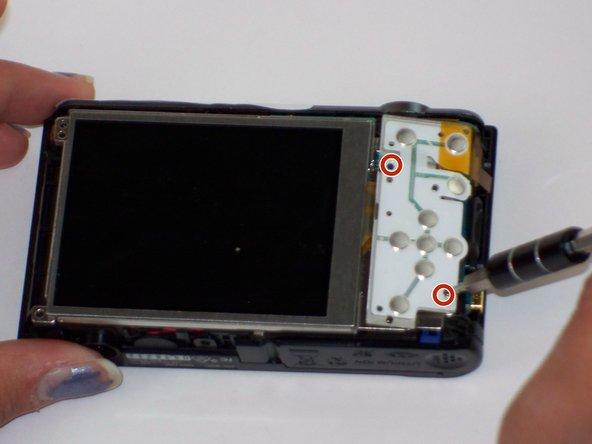 Sony Cyber-shot DSC-W800 Button Board Replacement