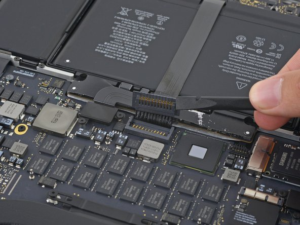 """MacBook Pro 15"""" Retina Display Mid 2015 Battery Connector Replacement"""