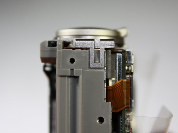 Canon PowerShot S410 Top Buttons Replacement