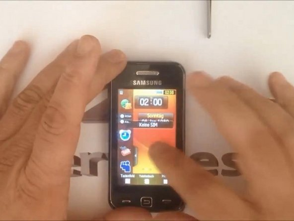Samsung Star Touch Screen Replacement