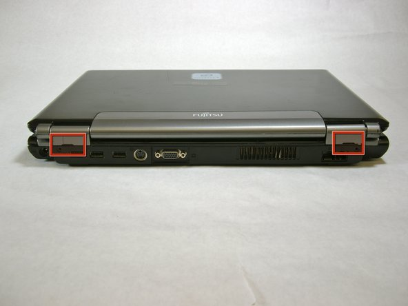 Fujitsu LifeBook N3510 Hinge Cover Replacement