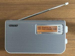 Sony XDR-S50 DAB Radio