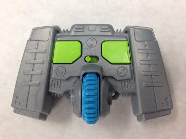 Air Hog Smash Bots Front Panel Replacement