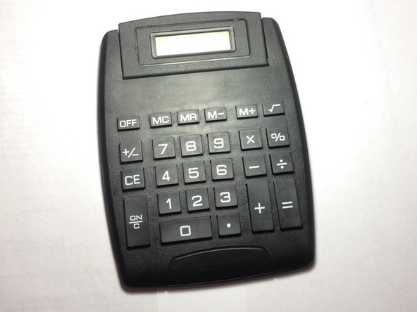 This oversized calculator is great for beginners and those with poor vision