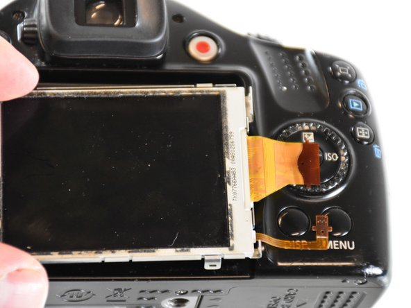 Canon Powershot SX30 IS LCD Replacement