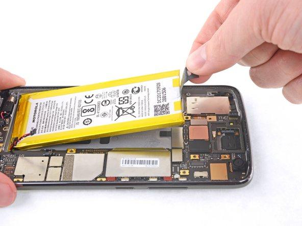 Motorola Moto G5 Plus バッテリーの交換