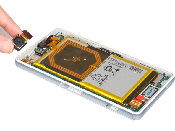 Sony Xperia Z3 Compact Rear Camera Replacement