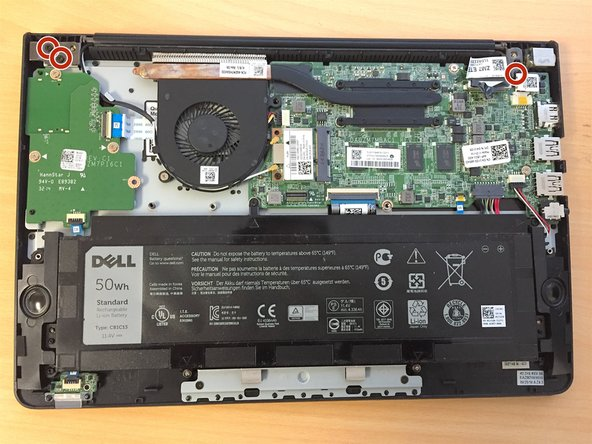 Dell Chromebook 11 CB1C13 LCD Hinged Assembly Replacement