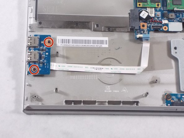Sony Vaio SVT151A11L USB Port Board Replacement