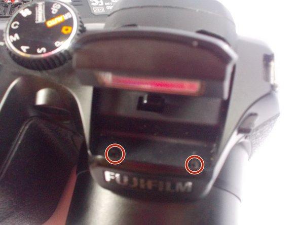 Fujifilm FinePix S2980 Flash Mechanism Latch Spring Replacement