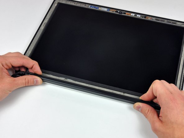 Slide the clutch cover toward the right edge of the display.