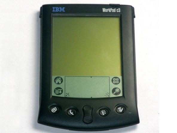 Disassembling IBM WorkPad c3 Front Case