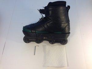 How to redistribute worn inline skate wheels