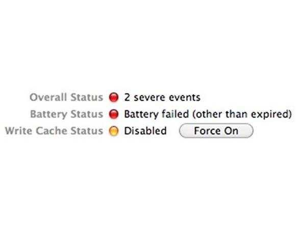 Apple Xserve/Mac Pro RAID Card Battery Repair