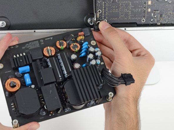 iMac Intel 27インチ Retina 5K Display 2019 電源の交換
