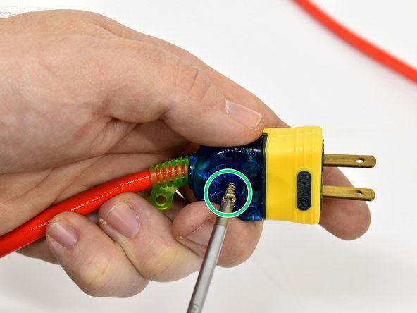 Disassemble the plug end
