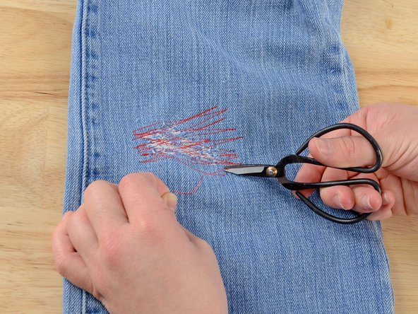 Clip any dangling threads and admire your work.