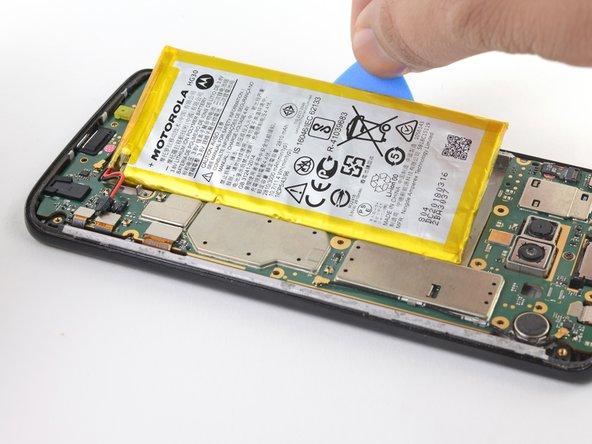 Remplacement de la batterie du Motorola Moto G6