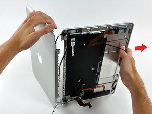 MacBook Air (Modelle A1237 und A1304) Displayeinheit tauschen