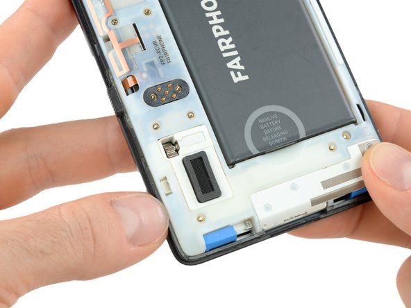Get in between the front part of the slim case and the phone's body with your thumb nail.