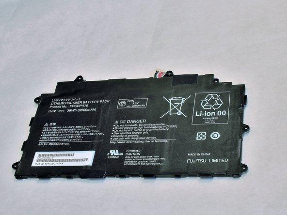 Fujitsu Lifebook Stylistic Q584 Battery  Replacement