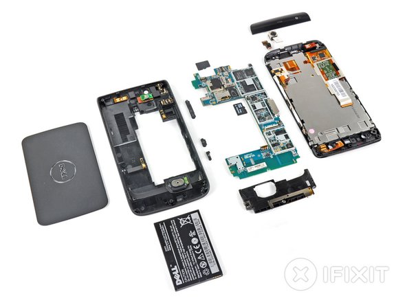 Dell Streak Repairability: 8 out of 10 (10 is easiest to repair)