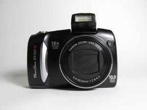 Canon PowerShot SX120 IS Troubleshooting