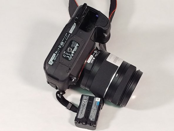 Sony Alpha DSLR- A850 Battery Replacement