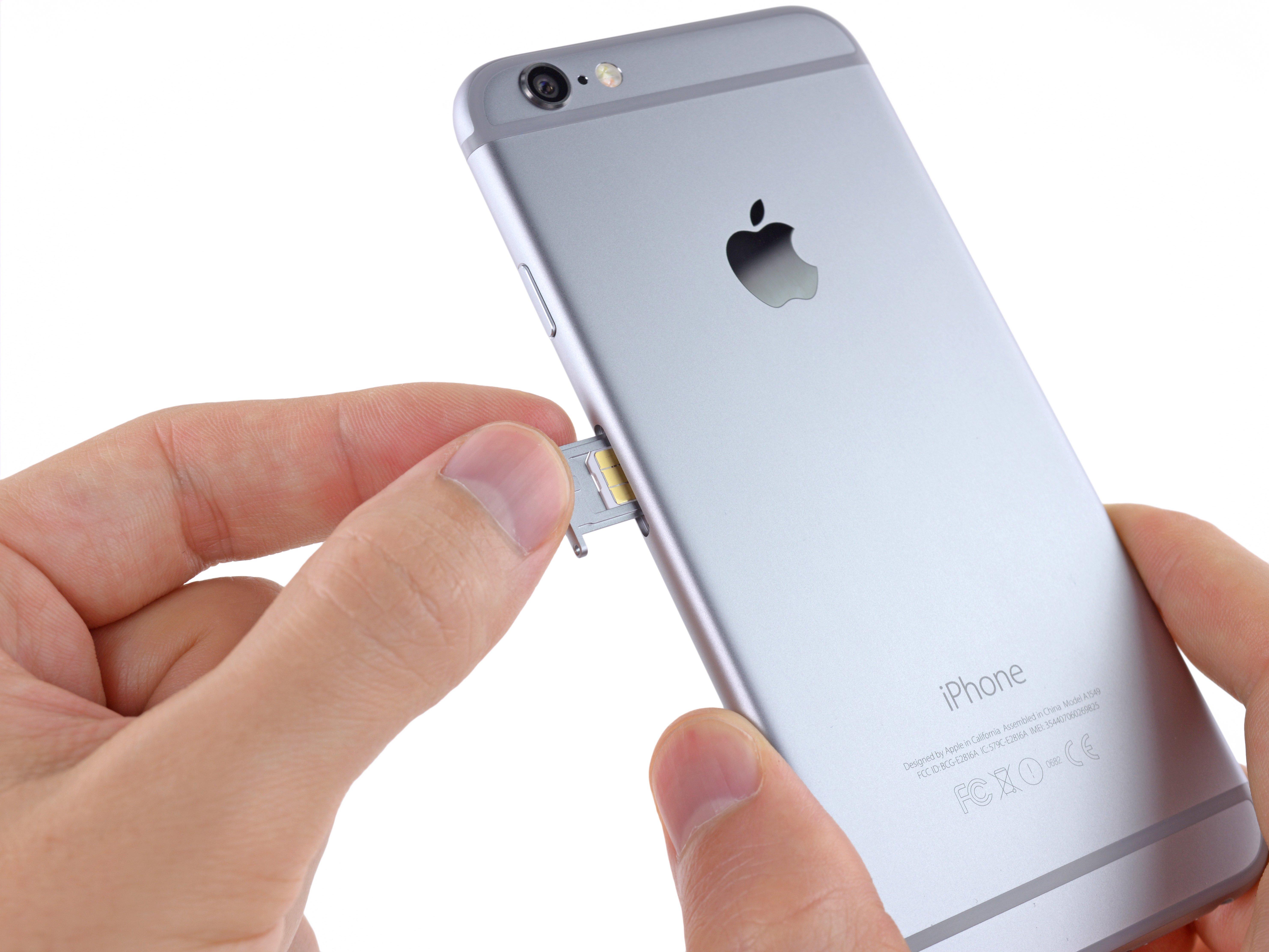 iphone 6 sim card replacement ifixit repair guide