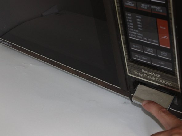 Repairing Quasar Microwave Door Handle