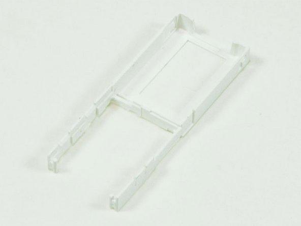 Plastic framework remains.